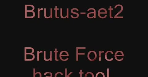 Download brutus-aet2 To Hack The Facebook , Gmail ,Hotmail