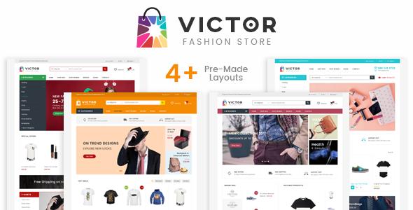 Victor – Responsive Prestashop Theme