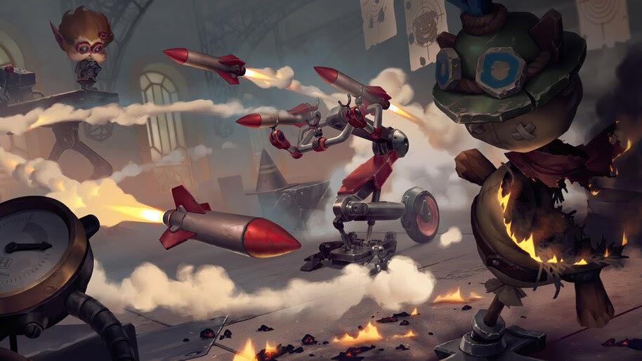 Mk5: Rocket Blaster, Legends of Runeterra, 4K, #3.1790