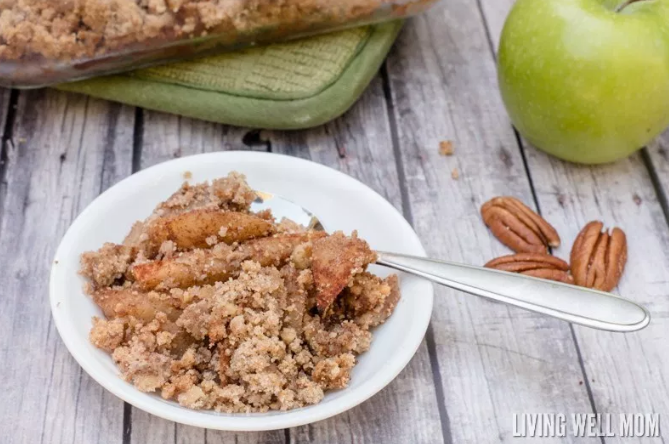 Grain-Free Apple Crisp #apple #healthy