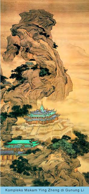 Kompleks Makam Ying Zheng di Gunung Li