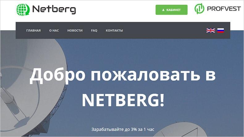 netberg.cc обзор и отзывы HYIP-проекта