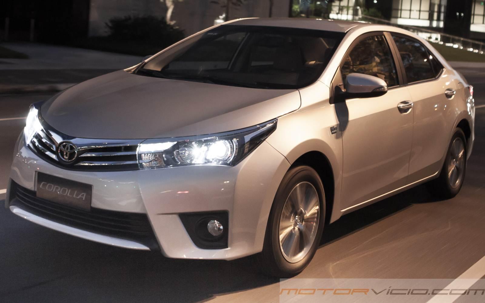 Toyota Corllla no nanking de carros mais vendidos do Brasil