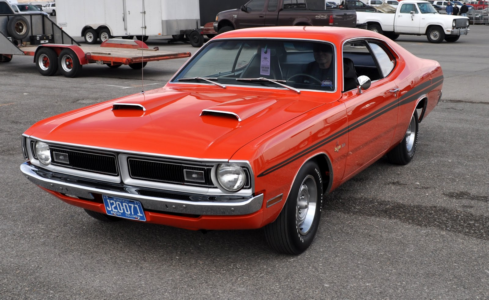 classic car information: demons at the lvms, during mopars at the strip