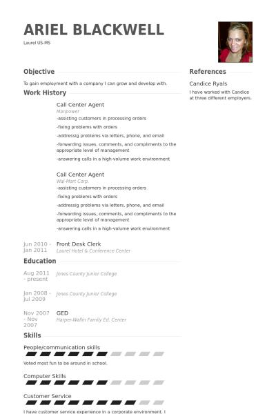 Callcenteragent Lebenslauf Vorlage Beispiele 2019 Resume