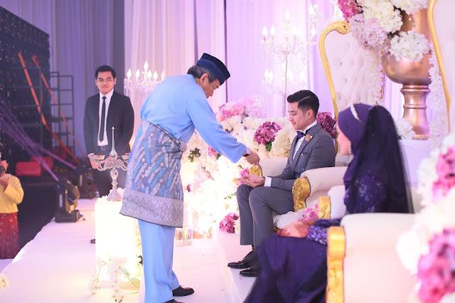 DYMM Sultan Selangor memulakan istiadat merenjis
