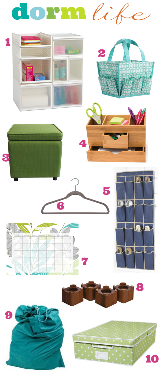 Iheart organizing you asked iheart answering organized - College dorm storage ideas ...
