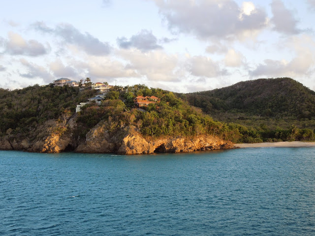 setting sail from Antigua