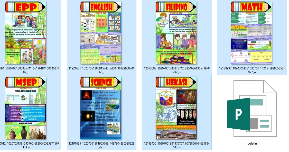 Try These Deped Tambayan Bulletin Board Grade 4 1st Quarter