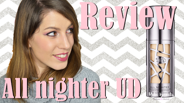 review opinion all nighter liquid foundation urban decay maquillaje
