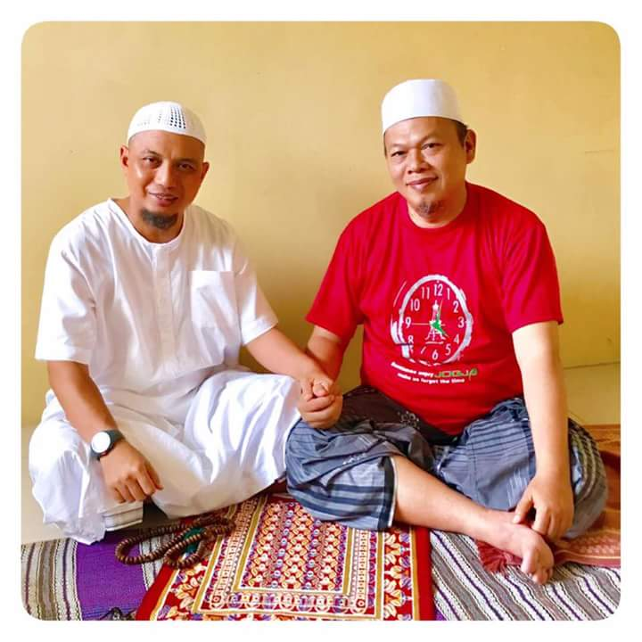 Jenguk Al-Khaththat, KH Arifin Ilham Berdoa Kapolri Dapat Hidayah