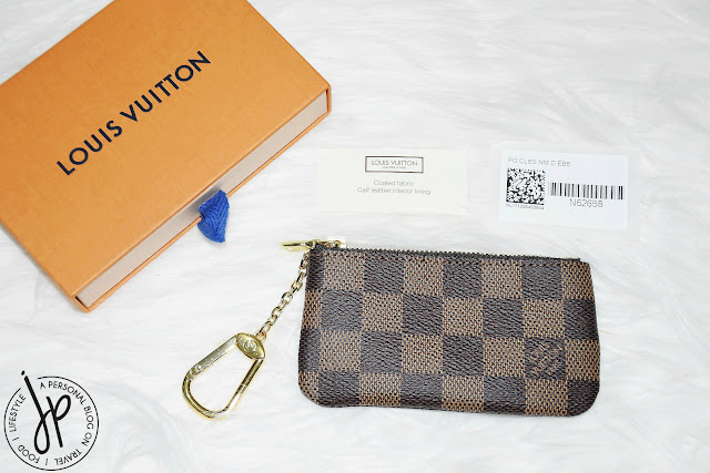 louis vuitton box and key pouch