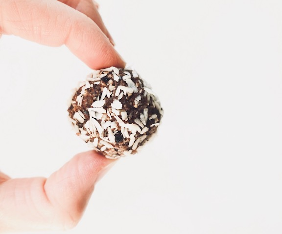 vegan gluten-free power balls  recipe