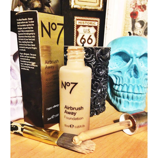 Boots No.7 Airbrush Away Foundation Review