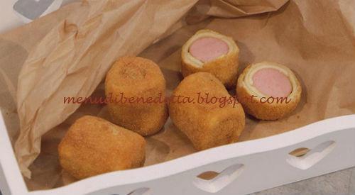 La Cuoca Bendata - Rotolini di wurstel e formaggio ricetta Parodi