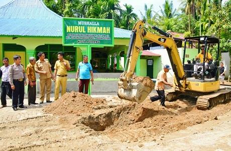 Warga Bersemangat, Pembangunan Jalan Kampung KB Berok Dipacu