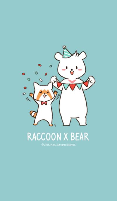 Raccoon x Bear