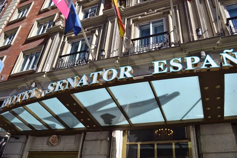 Madrid, Espagne, Hotel, Senator, Spa