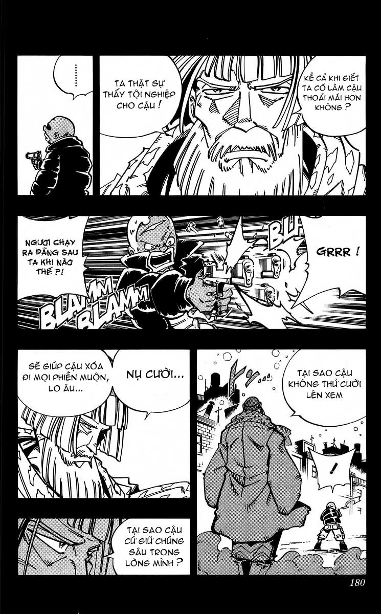 Shaman King [Vua pháp thuật] chap 116 trang 12