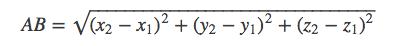 Distance formula Arkit ios