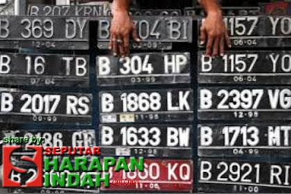 Sosialisasi Pembatasan Nopol Kendaraan Ganjil Genap di Jakarta
