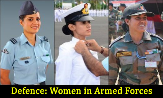 Defence-Women-in-Armed-Forces