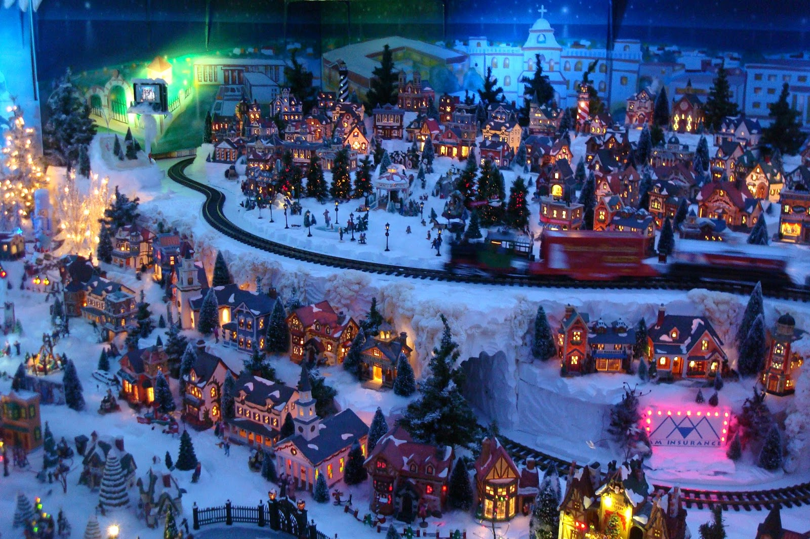 Light Ideas Pacificaps Friary Christmas Village Continues