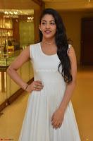 Daksha Nagarkar Cute Beauty in Sleeveless White Dress at Khwaaish Exhibition Launch 2017 ~  Exclusive 087.JPG