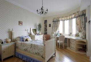 cuarto para niña romántica