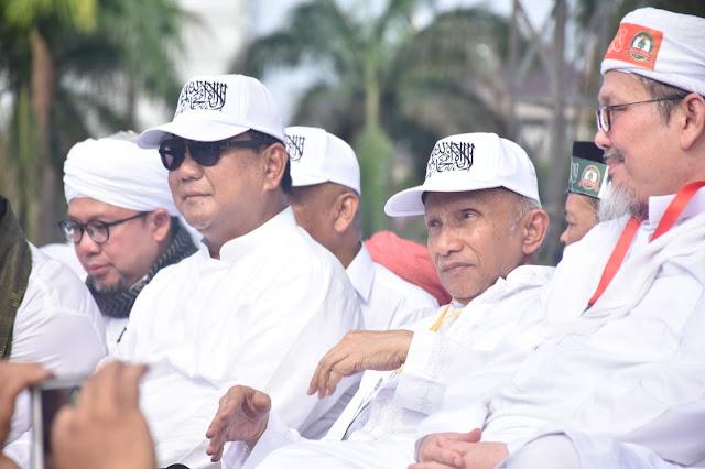 Usai Reuni 212, Prabowo: Sampai Kebawa Mimpi Gitu
