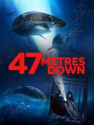 Poster 47 Metres Down 2017 Dual Audio HD 300MB