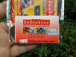 baterai Nokia BLD-3 valentine