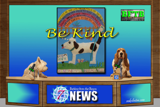 BFTB NETWoof News reports on Be Kind to Animals Week