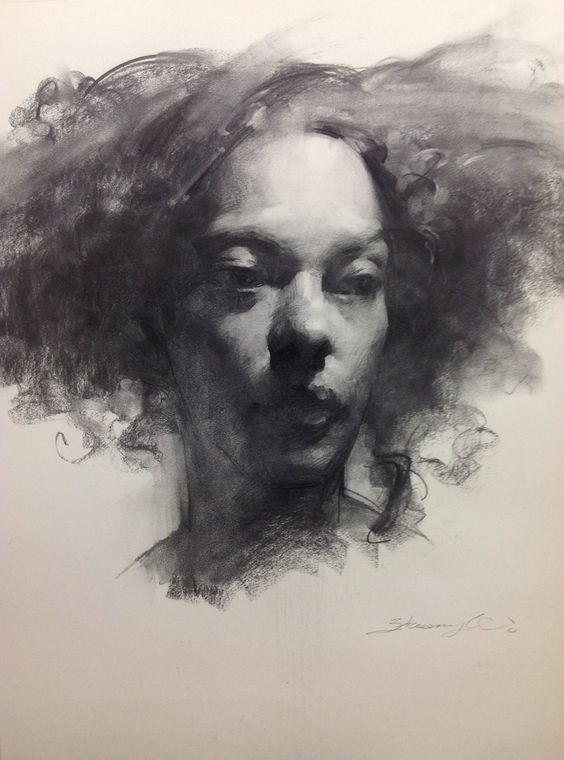 07-Zhaoming-Wu-Our-Essence-Captured-in-Charcoal-Portrait-Drawings-www-designstack-co
