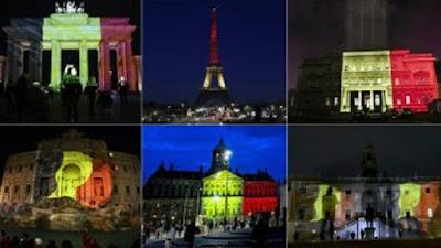 Múltiples homenajes en todo el mundo a las víctimas de los atentados de Bruselas