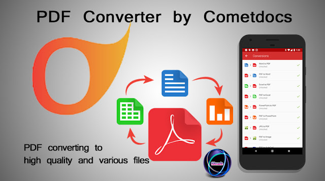 PDF Converter by Cometdocs - PDF converting to high quality and various files