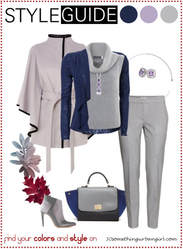 Bundle up for cold weather, pretty outfit idea for Light Summers