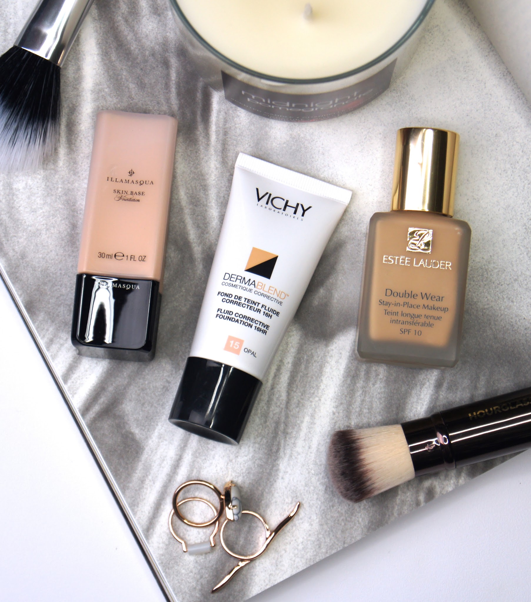 top best 3 full coverage foundations makeup must haves estee lauder illamasqua vichy review
