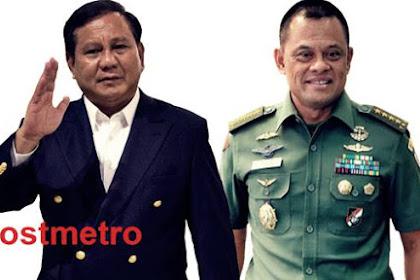 Prabowo-Gatot Pasangan Ideal Pimpin Indonesia