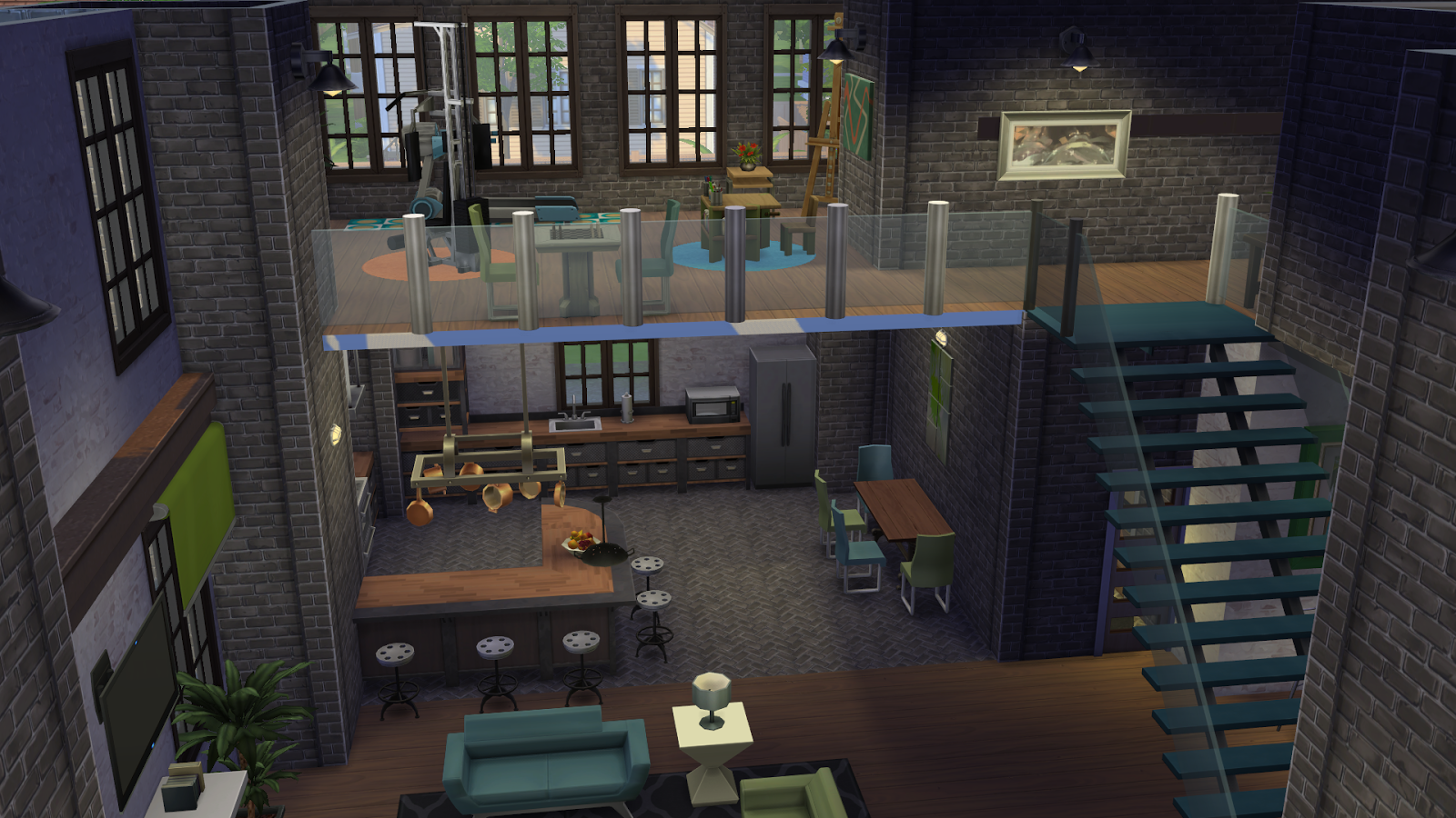 Simply Ruthless: Industrial Living