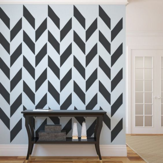The chevron pattern