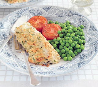 Cod Fillets with Cheese Crust Recipe