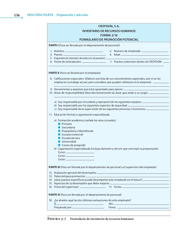 2.2.3 INVENTARIO DE COMPETENCIAS LABORALES DE RECURSOS HUMANOS ...