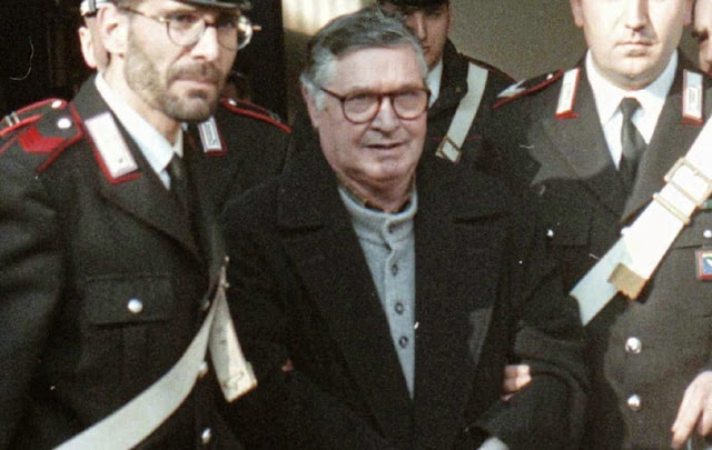 Mafia assassination mastermind Salvatore TotoRiina