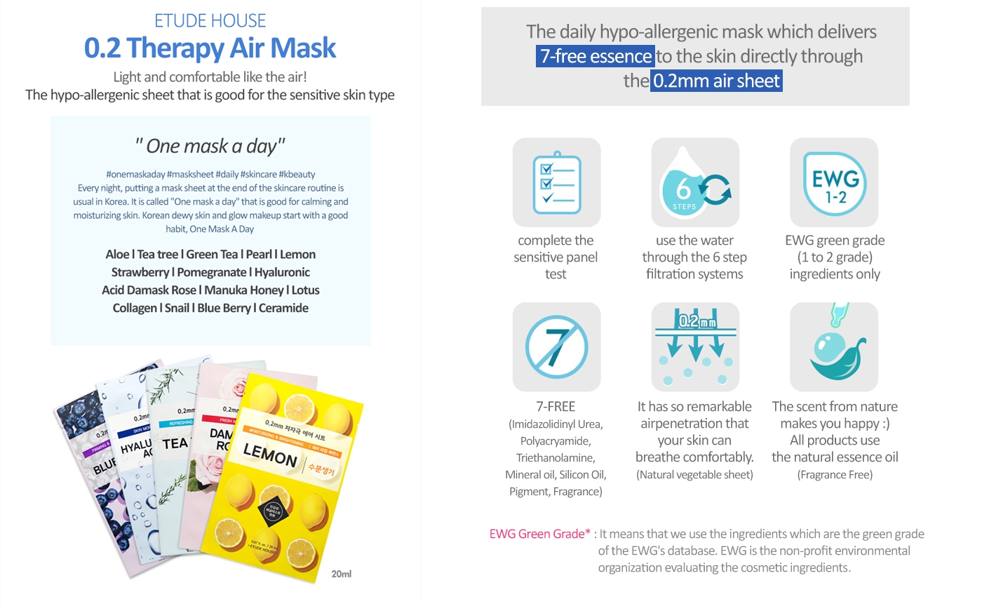 Image result for 0.2 etude house therapy mask