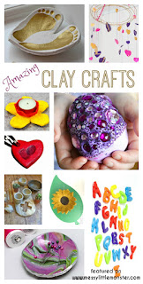 Clay craft ideas for kids. DIY clay crafts using air drying clay or polymer clay that make stunning homemade gifts. Something for all ages from preschoolers to school aged children to teenagers.
