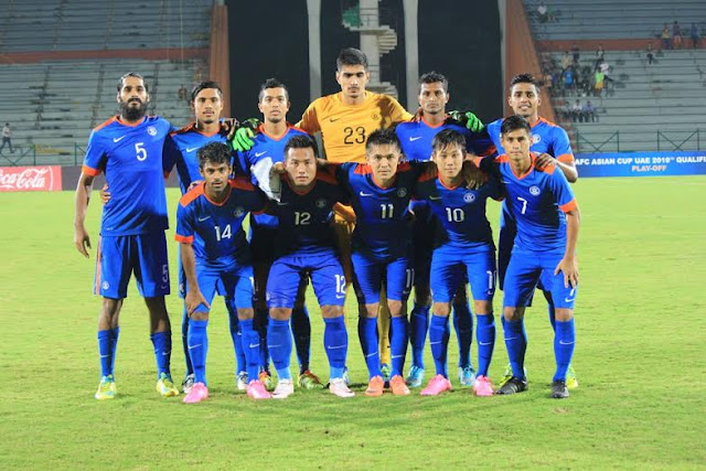 India qualify for 2019 AFC Asian Cup Qualifiers