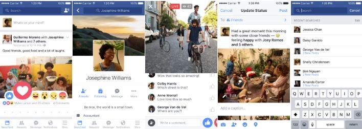 apple apps facebook