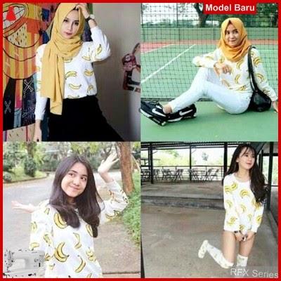 RFX057 MODEL BANANA PJ HALUS FIT SIZE L BMG SHOP MURAH ONLINE