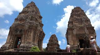 Templos de Angkor. East Mebon o Mebon Oriental.